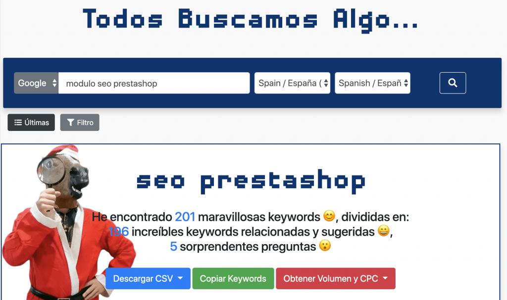 Kiwosan herramienta SEO en español
